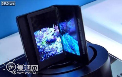 三星将发布首款无缝折叠屏幕手机Galaxy Q